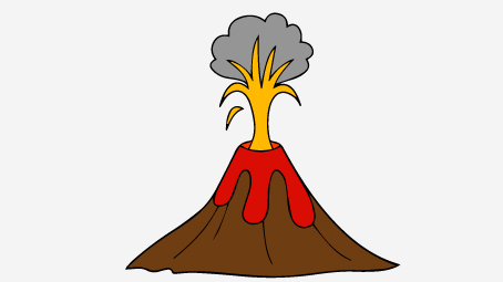 Top 10 free printable volcano coloring pages online maxwellsz