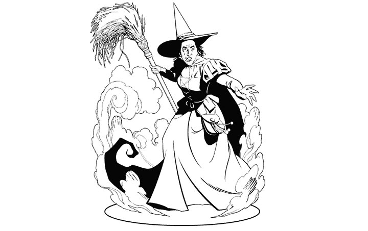 Wicked Witch Drawings Wicked Witch of The West