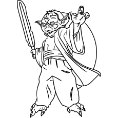 star wars yoda coloring pages - Printable Coloring Pages Star Wars