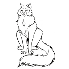 A Long Tailed Warrior Cat