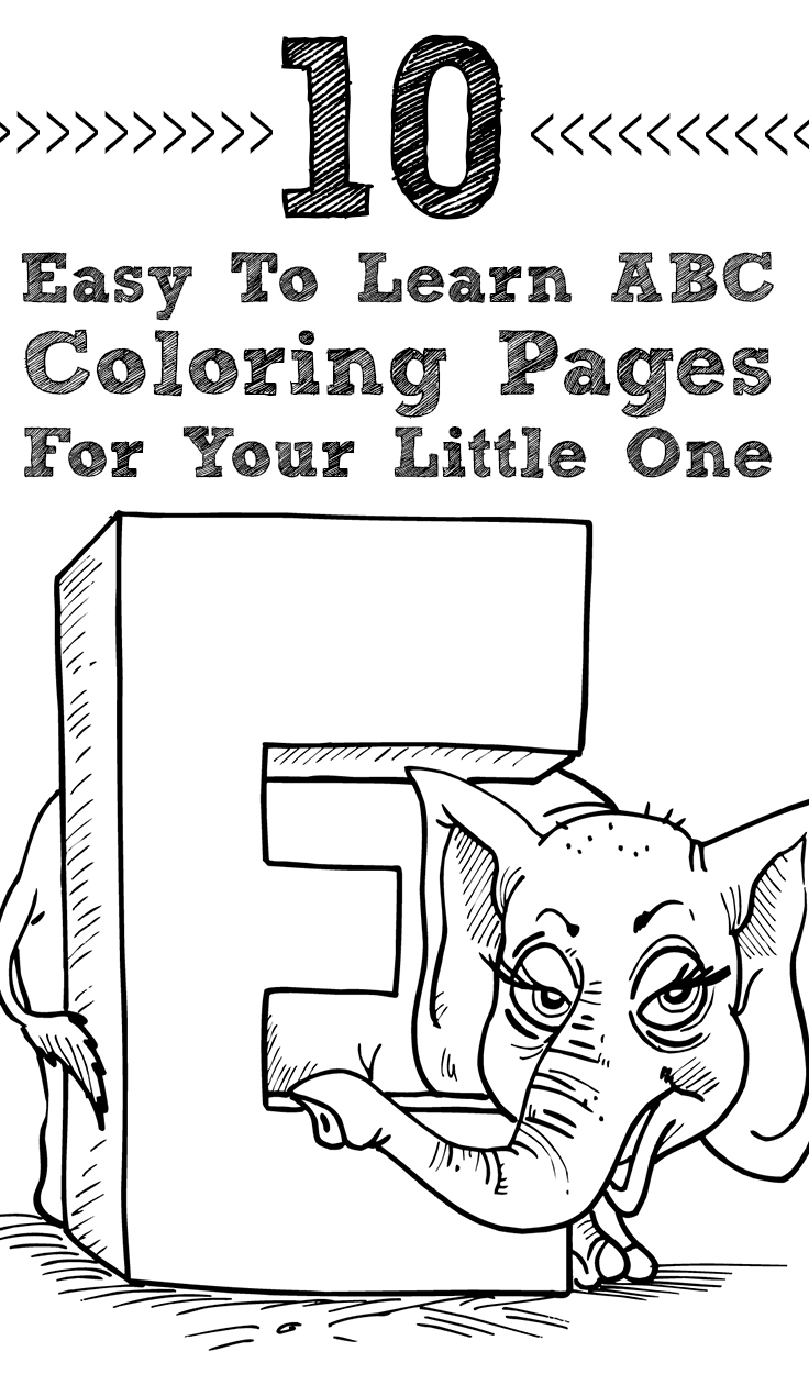 Abc coloring pages for preschoolers - Abc Coloring Pages For Preschoolers 34