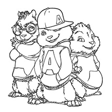 chipmunk coloring pages Top 25 Free Printable Alvin And The Chipmunks Coloring Pages Online chipmunk coloring pages