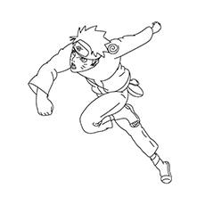 Anime Naruto Fighting