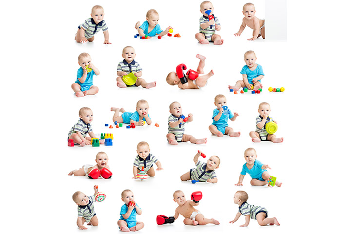 Play Activities For Babies Aged 1 To 12 Months!