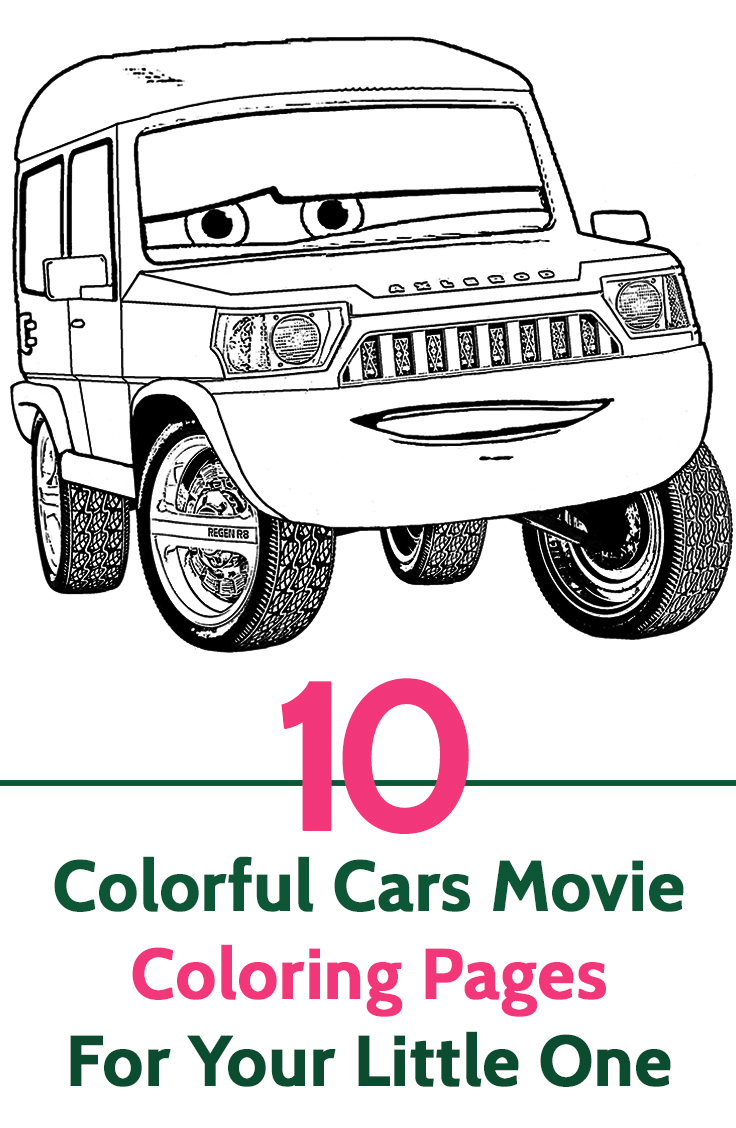Cars coloring books - Cars Coloring Books 59