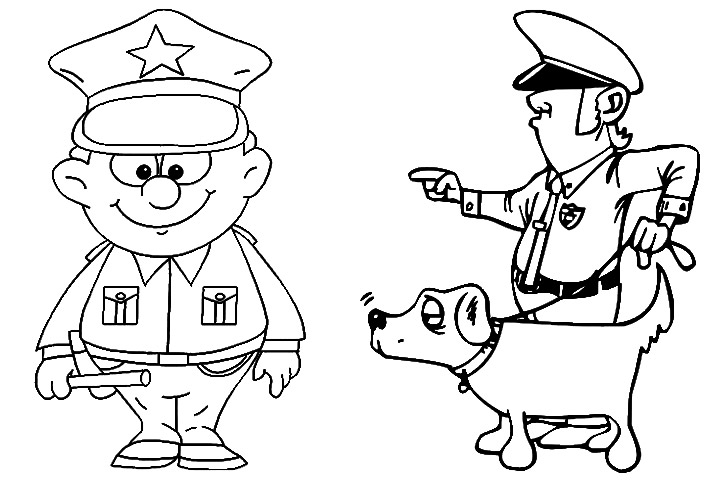 Lego Policeman coloring page   Free Printable Coloring Pages   480x720