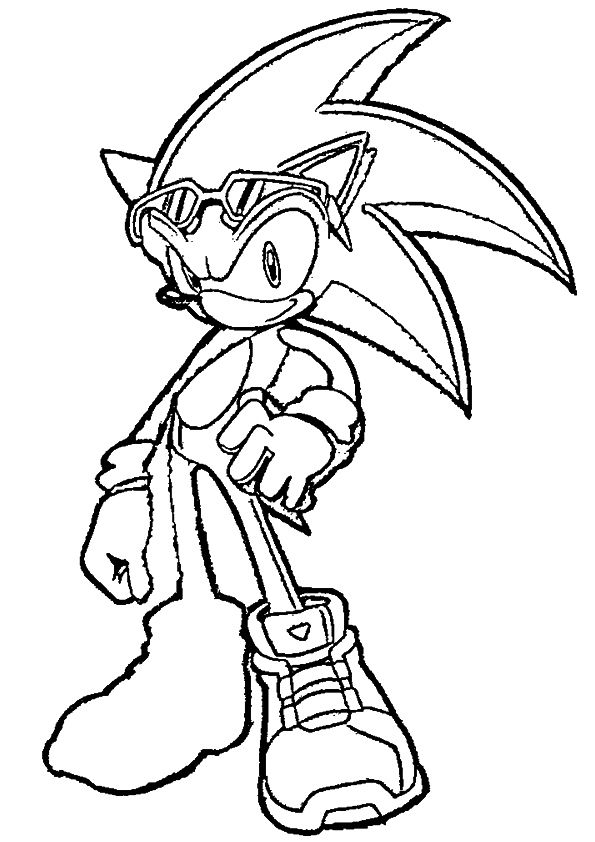 coloriages-sonic-2
