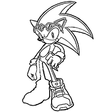 coloriages sonic 2
