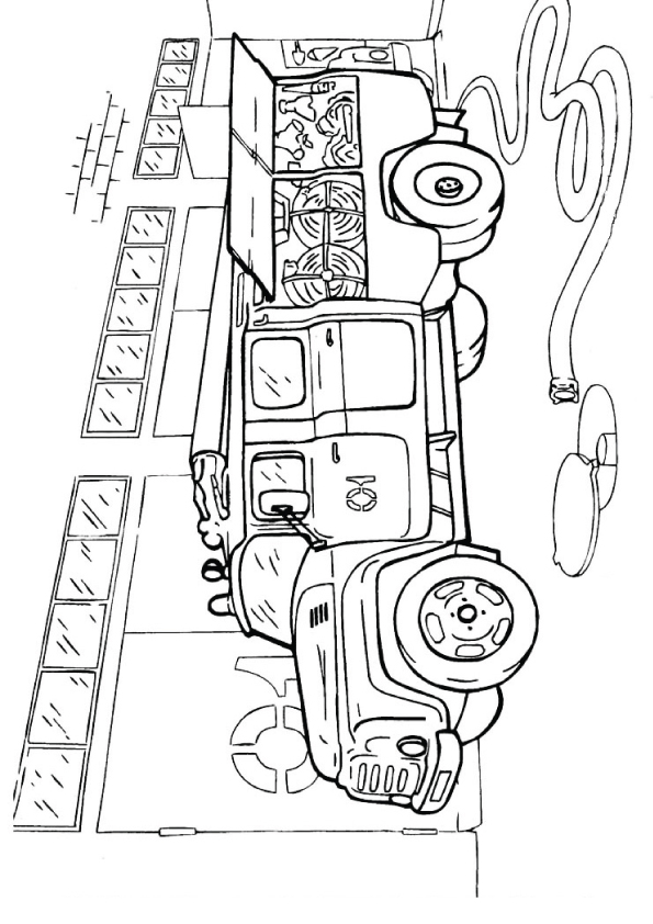 coloring-fire-truck