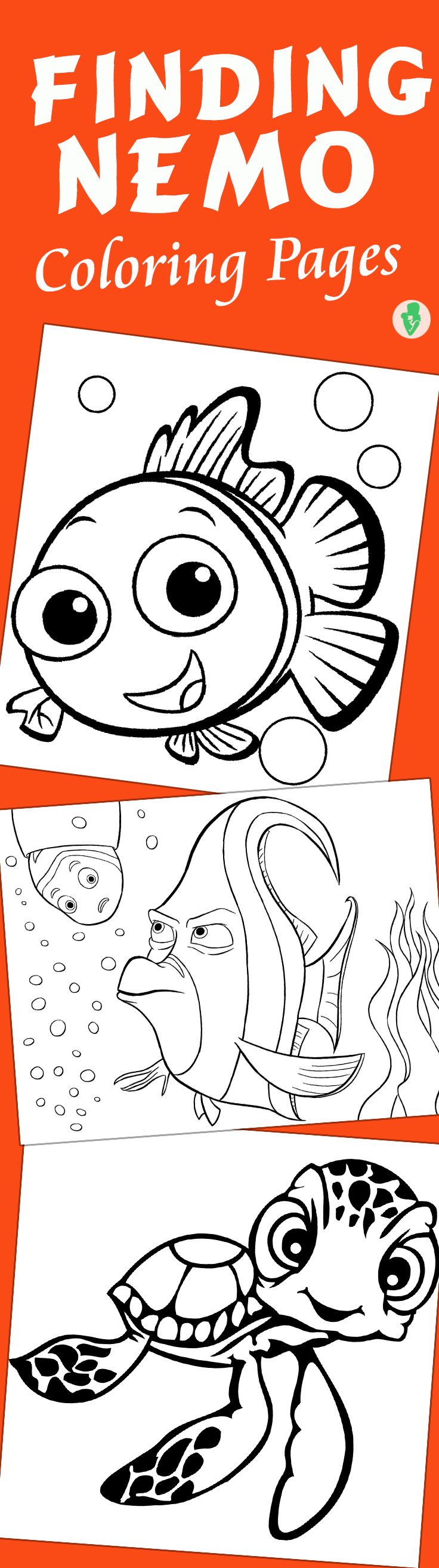 Coloring pages nemo