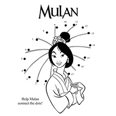 connect The Dots Mulan 16
