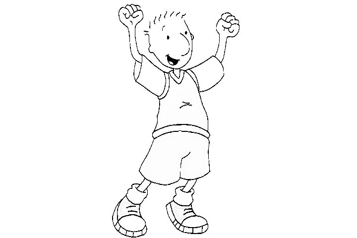 hubless douglas coloring pages - photo#32