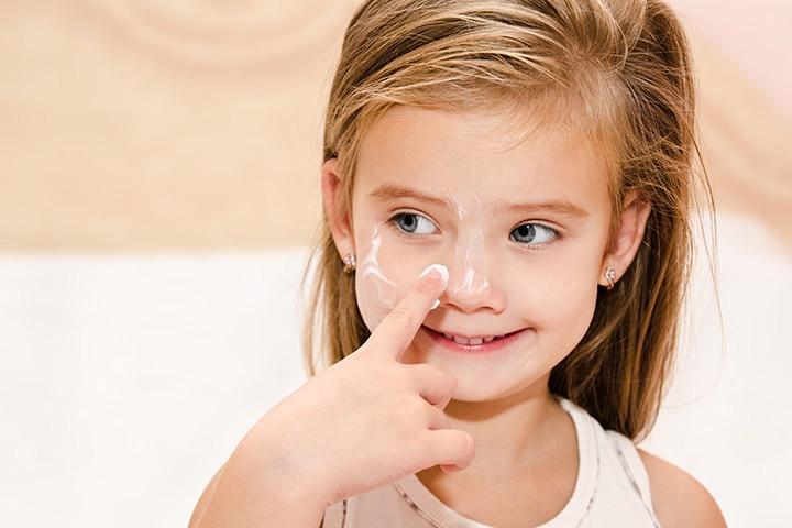 dry skin in children