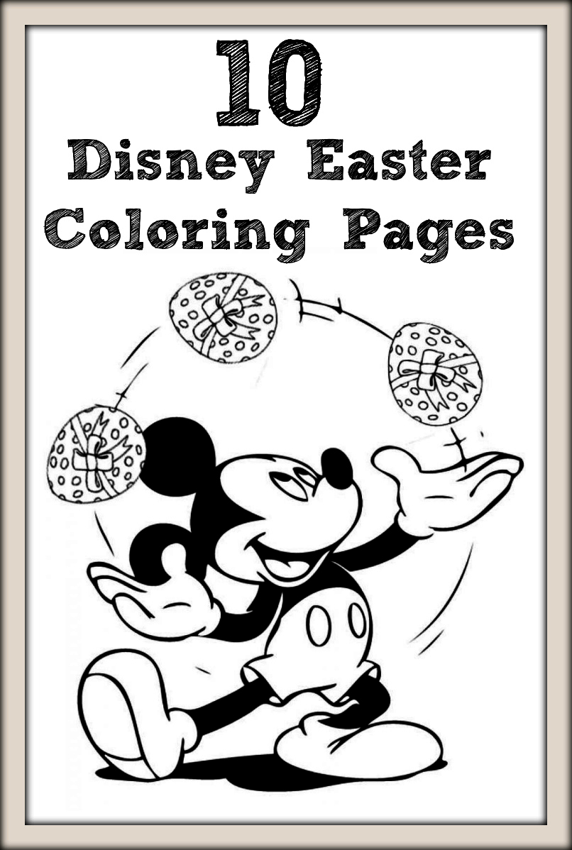 Princess easter coloring pages - Princess Easter Coloring Pages 5