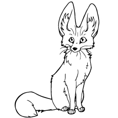 baby fox coloring pages Top 25 Free Printable Fox Coloring Pages Online baby fox coloring pages