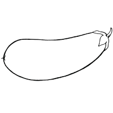 eggplant printable to color