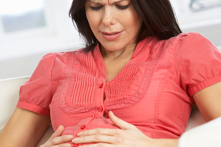 gas problem during pregnancy