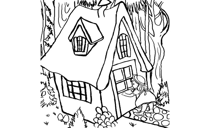 Printable Coloring Pages For Goldilocks And The Three Bears Best Mom Page U0026amp Book