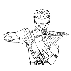 25 Best 'Mighty Morphin Power Rangers' Coloring Pages Your Toddler ...