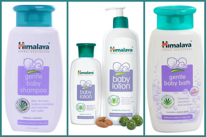himalaya baby products