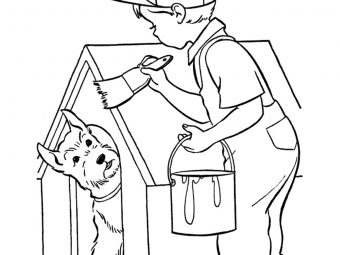 20 Beautiful House Coloring Pages To Keep Your Little One Busy