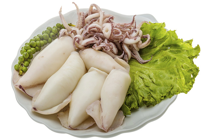 is it safe to eat calamari during pregnancy