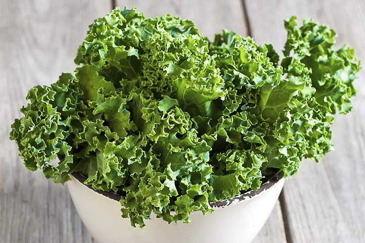 kale during pregnancy