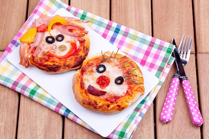 Top 20 cooking without fire recipes for kids mini pizza forumfinder Choice Image