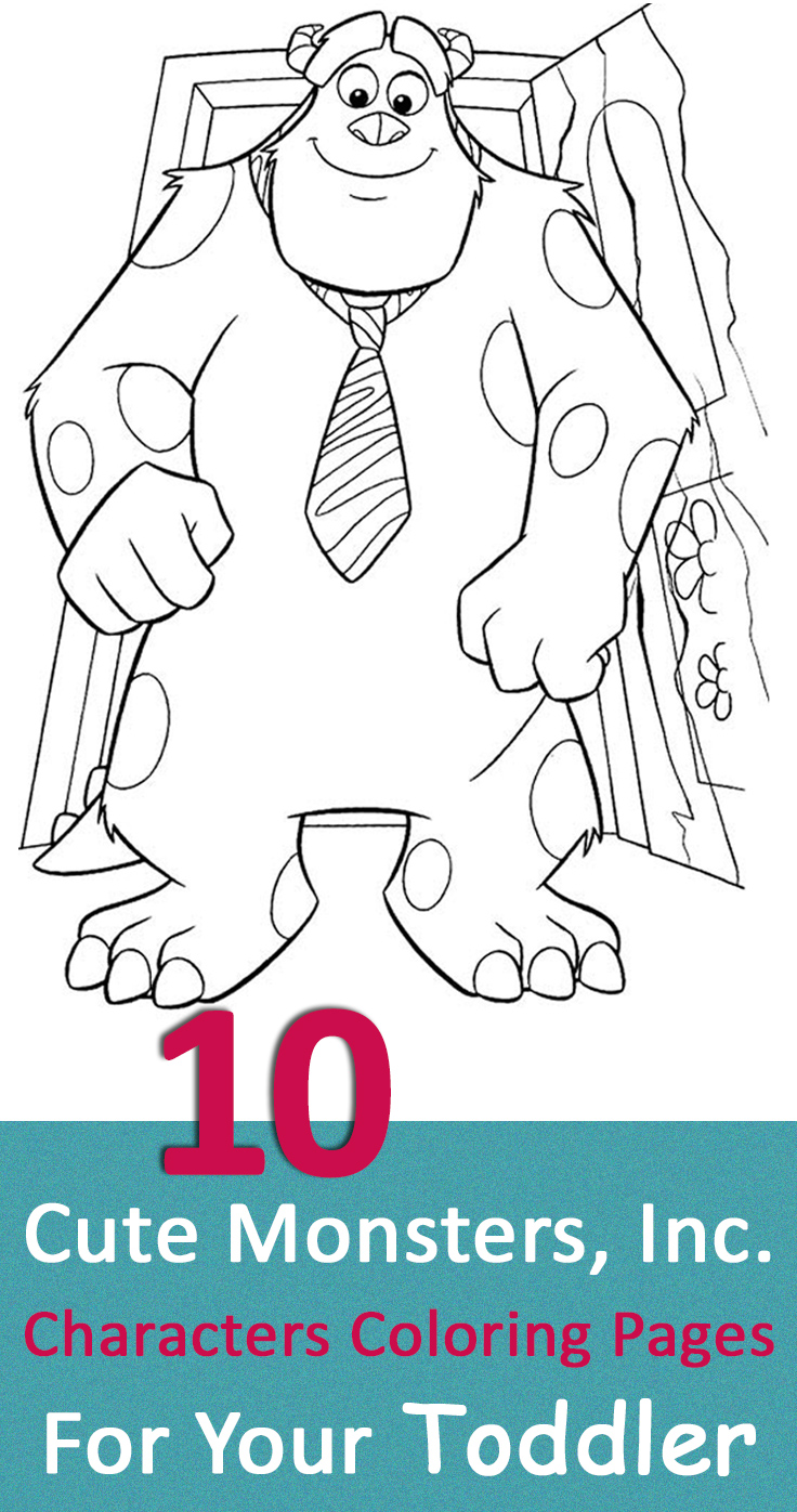 Printable coloring pages monsters inc - Printable Coloring Pages Monsters Inc 29