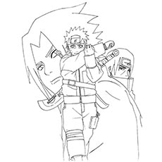 Top 25 Free Printable Naruto Coloring Pages Online