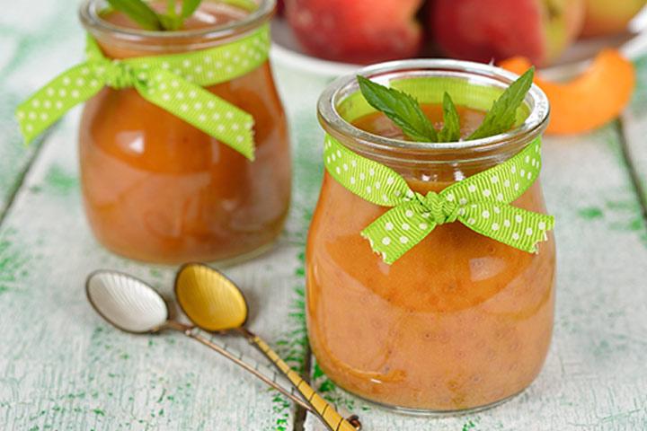 nectarine puree