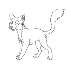 Top 25 Free Printable Warrior Cats Coloring Pages Online Warrior Cat Coloring Pages