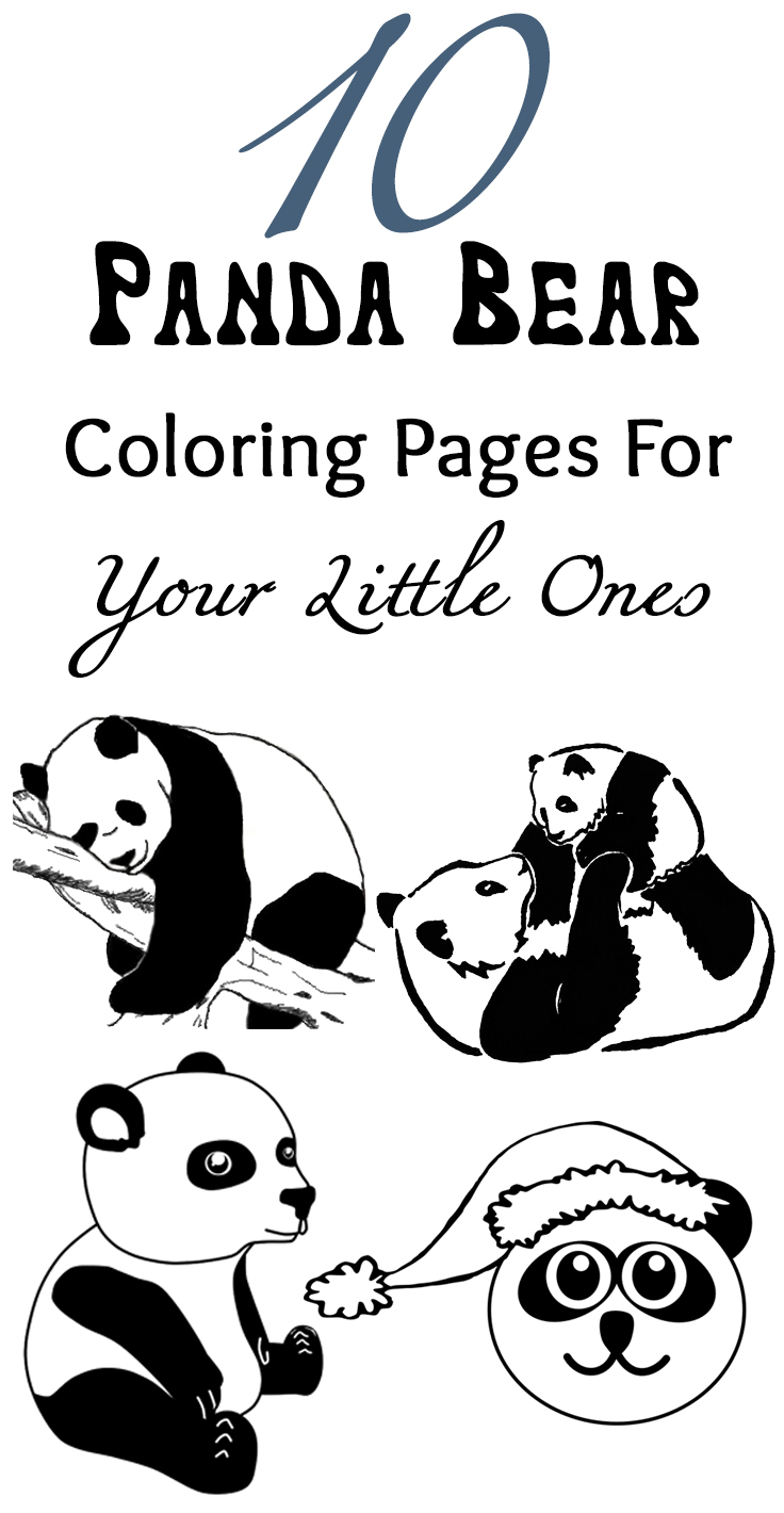 Coloring pages panda - Coloring Pages Panda 7