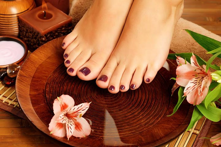 pedicure during pregnancy