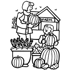 Pumpkin Patch Coloring Pages Great