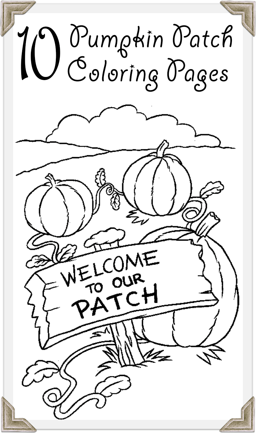 Printable coloring pages pumpkin patch - Printable Coloring Pages Pumpkin Patch 16