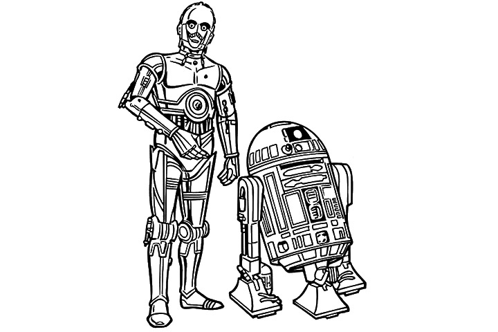 c3po coloring page gallery coloring pages adult