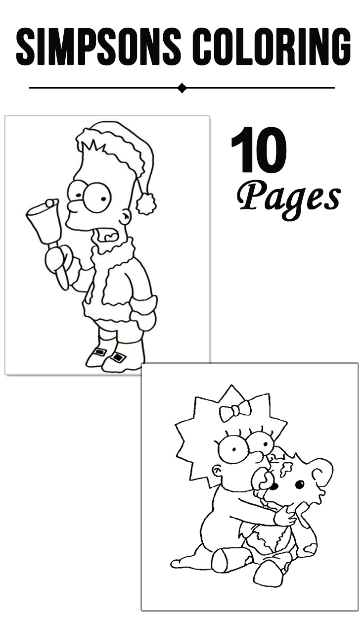 Simpsons coloring games online - Simpsons Coloring Games Online