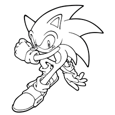 sonic131 - Sonic The Hedgehog Coloring Pages