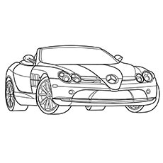 20 Free Printable Sports Car Coloring Pages Online