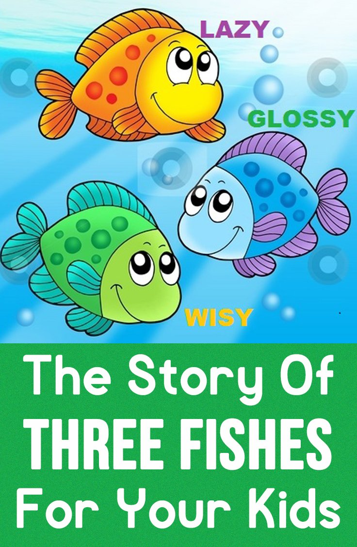 Worksheet Storytelling For Kids With Moral the story of three fishes for your kids to read home kid education