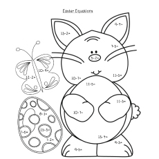 subtraction page toy based theme addition coloring pages