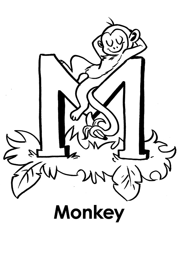 the-'m'-for-monkey