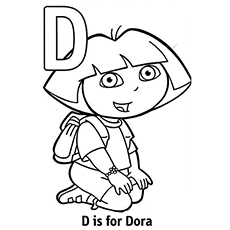 Top 10 Free Printable Letter D Coloring Pages Online D Coloring Pages