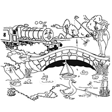 Thomas The Train Coloring Pages Fascinating Top 20 Free Printable Thomas The Train Coloring Pages Online