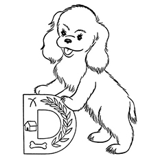 the letter d color print - Letter D Coloring Pages