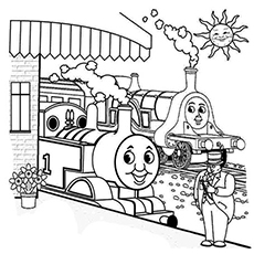 20 Free Printable Thomas The Train Coloring Pages Online