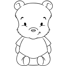 pooh bear coloring pages Top 10 Free Printable Pooh Bear Coloring Pages Online pooh bear coloring pages