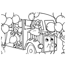 The Bertie Coloring Pages