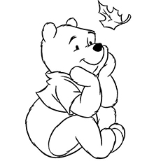 the baby pooh - Pooh Bear Coloring Pages Print